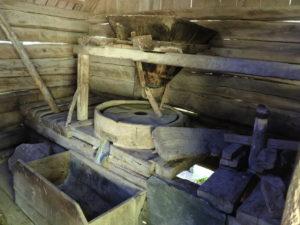 Rumunský Banát - vodní mlýnky u Gerniku
