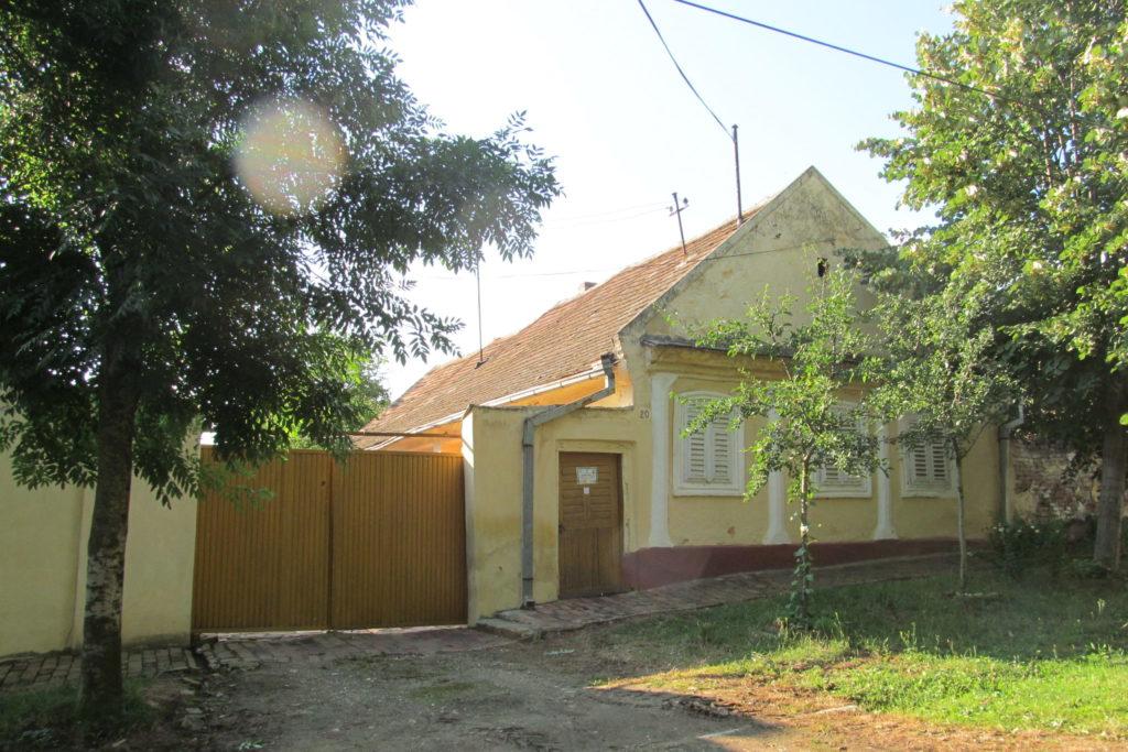 Tradiční stavení v Česku Selu