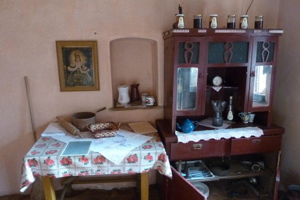 Ukázka života dříve - Etno kuča v Kruščici