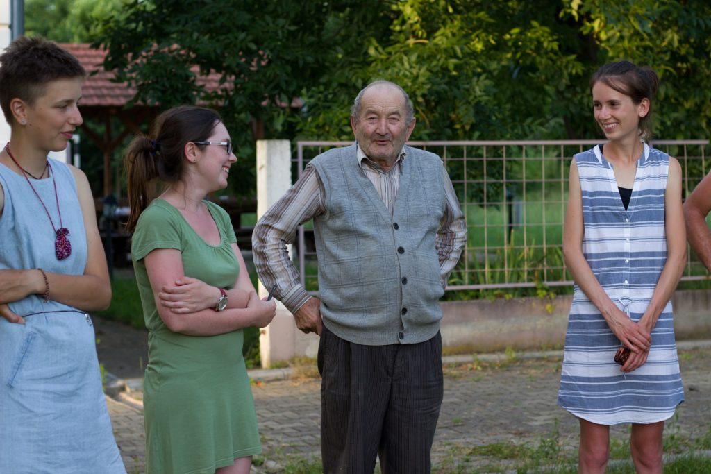 Mezigenerační sdílení v Češko Selu