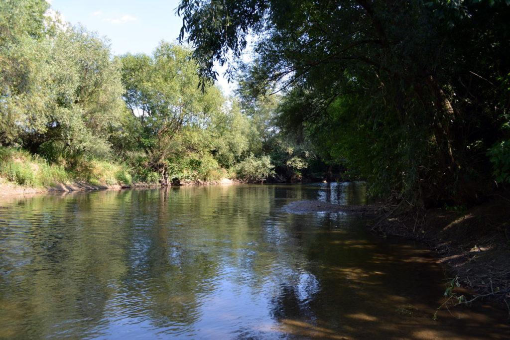 Řeka Nera u Bele Crkve