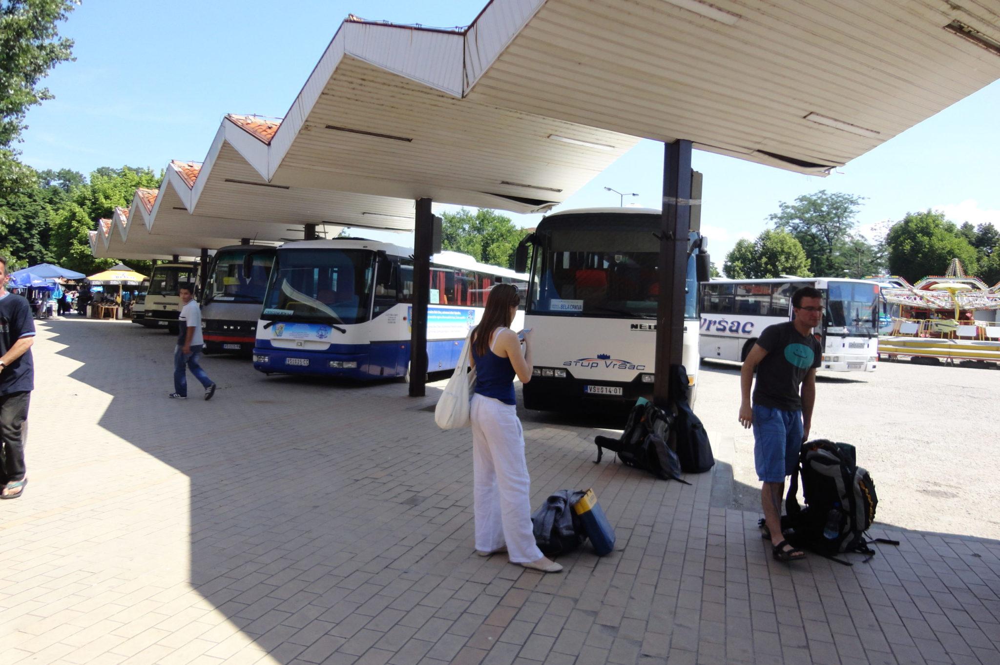 Autobusové nádraží Bela Crkva