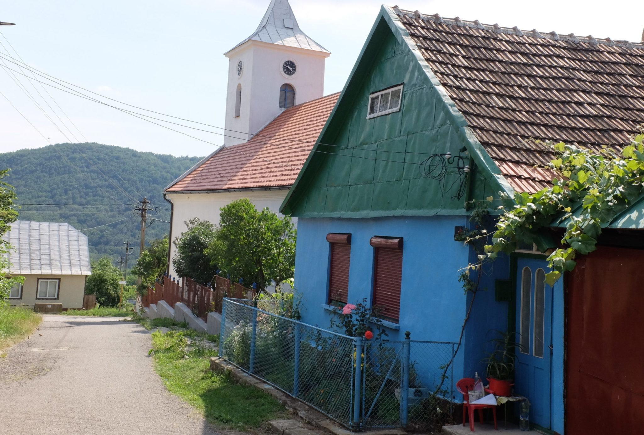 České vesnice v Rumunsku - Bígr