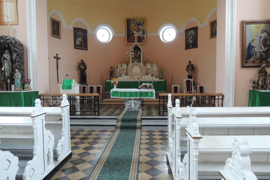 Kostel sv. Václava - interiér