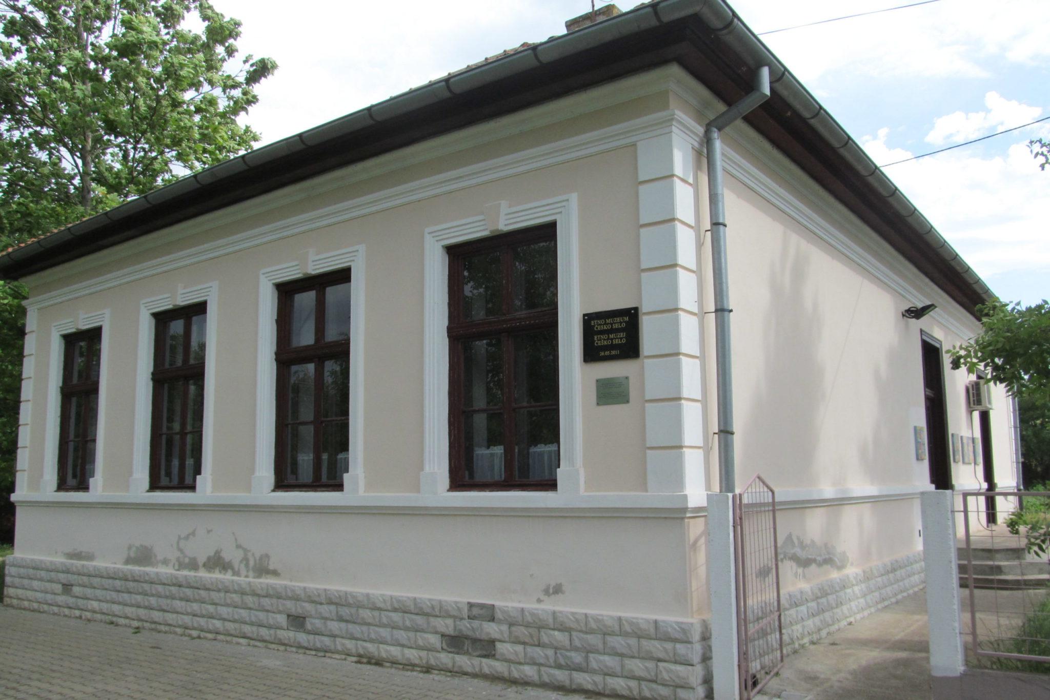 Bývalá škola - dnes muzeum
