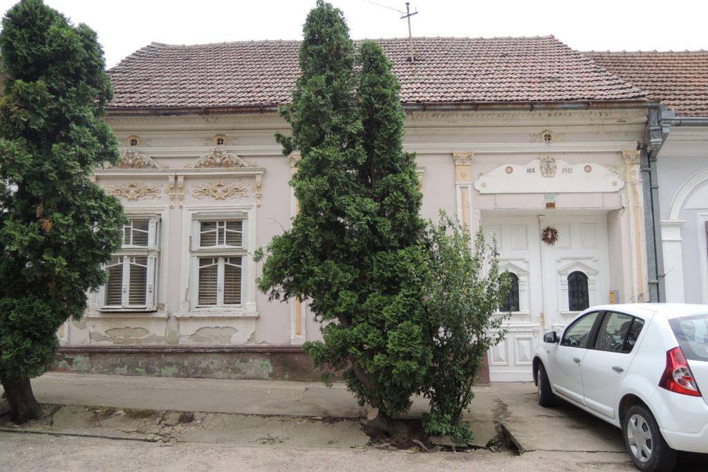 Typický dům v Bele Crkvi