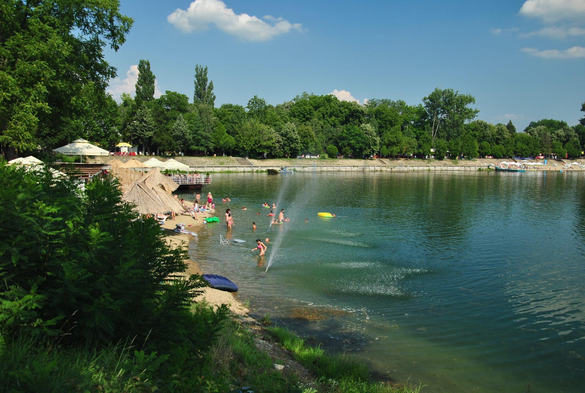 Belocerkevská jezera - možnost koupání
