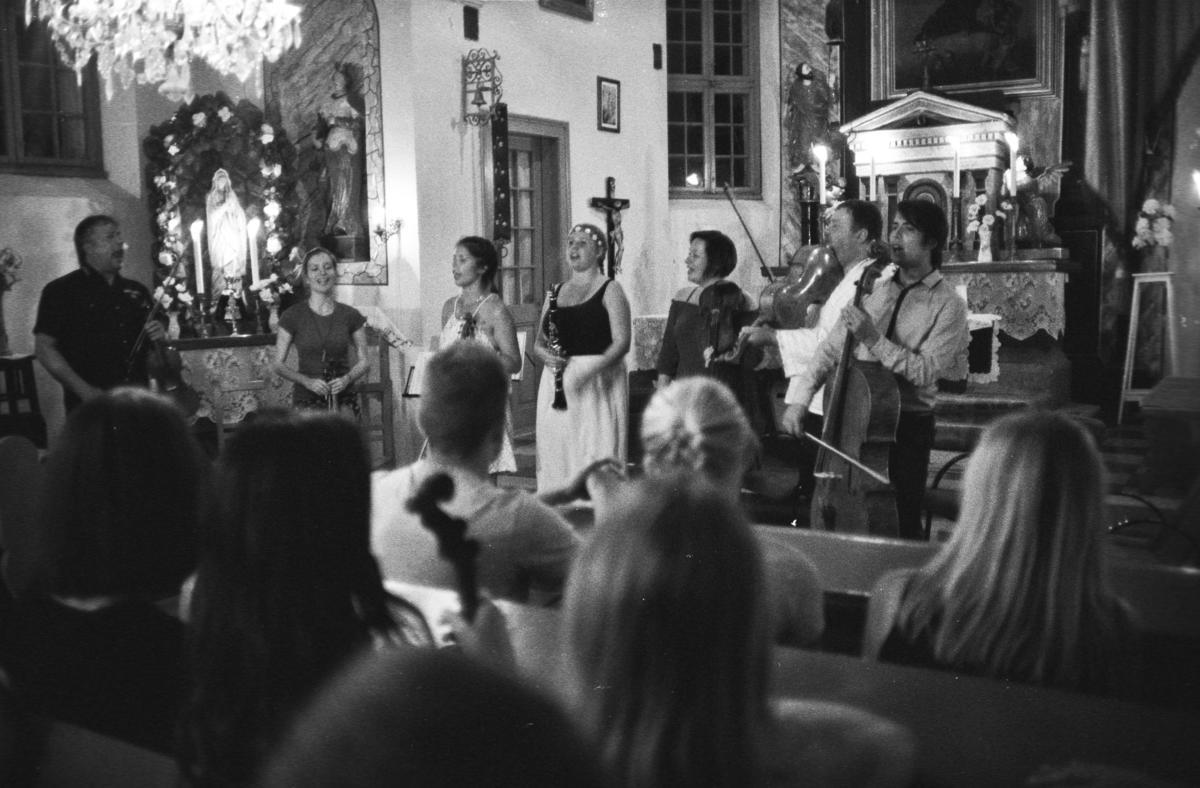 Zpívání v kostele