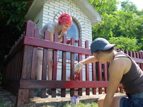 Údržba drobných památek v krajanských obcích