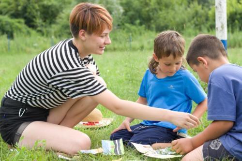 Práce s dětmi krajanů - příprava pro programů a her